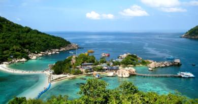Остров Самуи Таиланд, Самуи карта